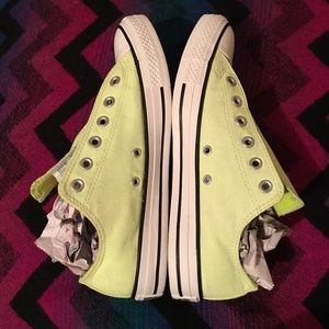 Converse Chuck Taylor All Star Neon Yellow Shoes